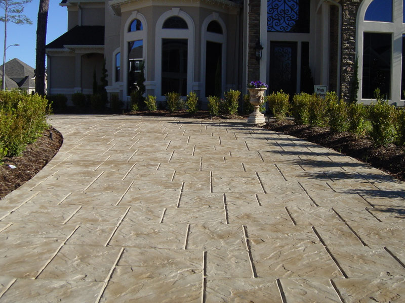 Stamped Concrete Driveways : London ontario concrete company